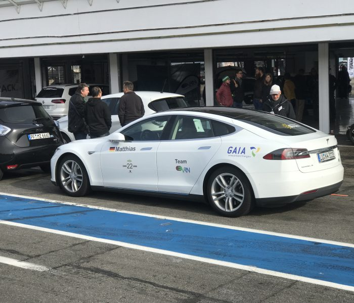 e4Testival Hockenheim Tesla Model 3 eCarsharing Ampera-e EVRN ElectrifyBW Electrify BW Tesla Model S